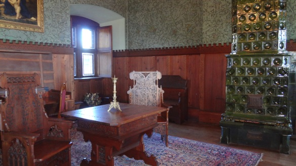 Dining room, Stove made of Venice