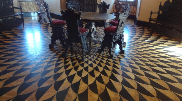 Splendid floor. Unfortunately, I forgot what the room is.