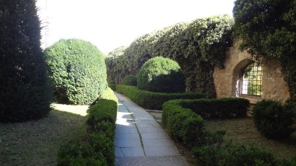 Garden of Bojnice Castle