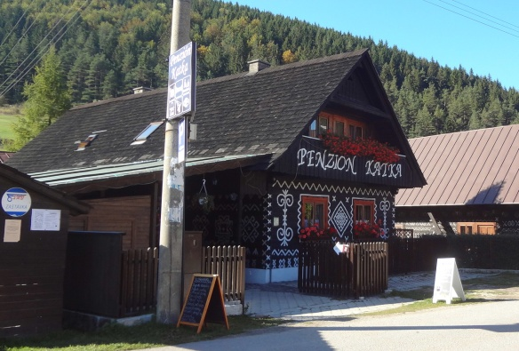 Traditional accommodation, Pension Katka
