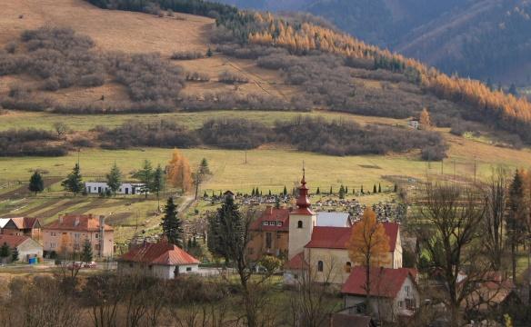 Fačkov Village, Slovakia