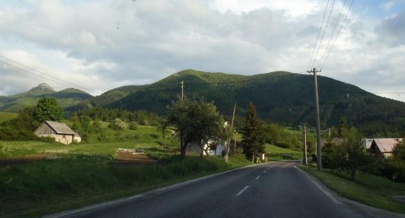 Going to Fačkov Village, Slovakia