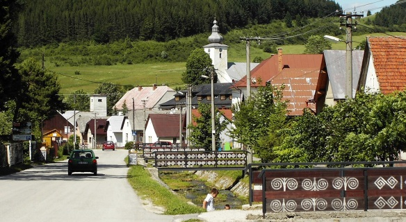 The last Čičmany, lovely village.