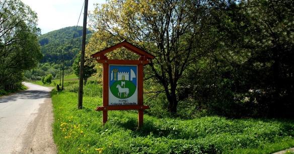 Village of Košecké Podhradie