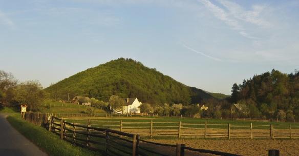 Completely quiet rural