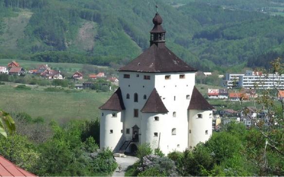 1. Nový zámok (New castle) Banská Štiavnica