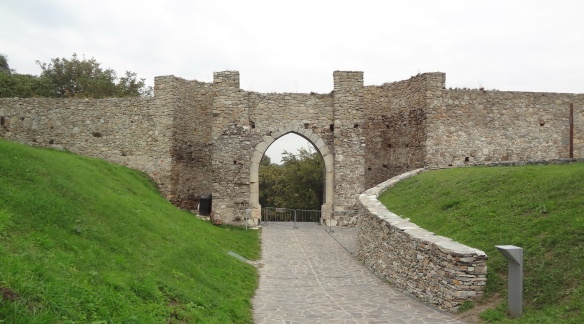 The gate of the castle