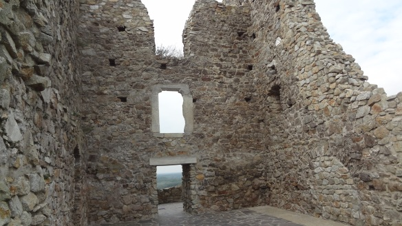 The ruins of Devín Castle