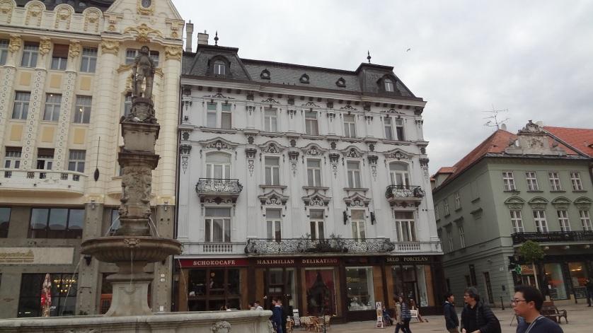 Hlavné námestie (Main Square) Bratislava