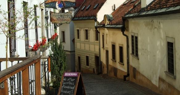 An alley of Tomasz Dziemian - Bratislava