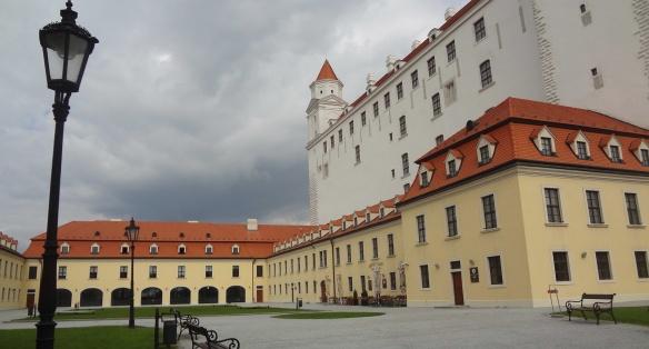West terrace of Bratislava Castle