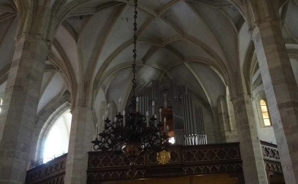 Pipe organ of St. Martin's Cathedral