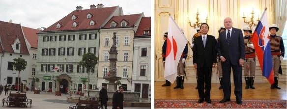 Embassy of Japan in the Slovak Republic / Ambassador Egawa and Slovak President Ivan Gašparovič