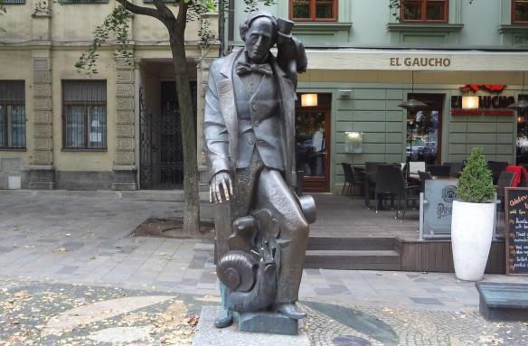 Hans C. Andersen Statue, Bratislava