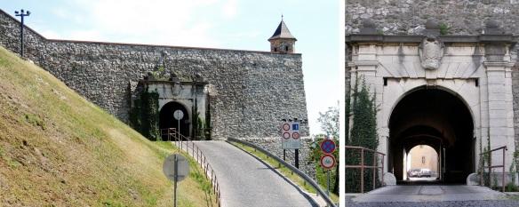 6. Leopold Gate, named after Moravian King Leopold 1st.