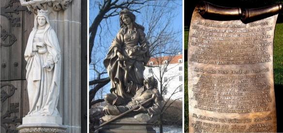 11. St. Elizabeth Statue of Bratislava Castle