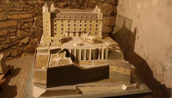 Model of Bratislava Castle