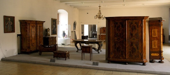 Furniture of Bratislava Castle