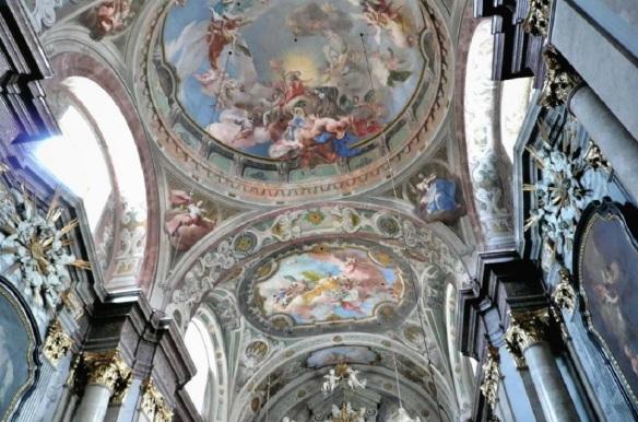 Ceiling of the St. Elizabeth Church
