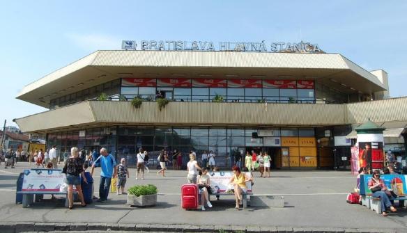 Bratislava Central Railway Station