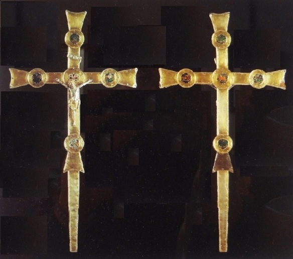 Processional cross potent (First quarter of the 14th century)