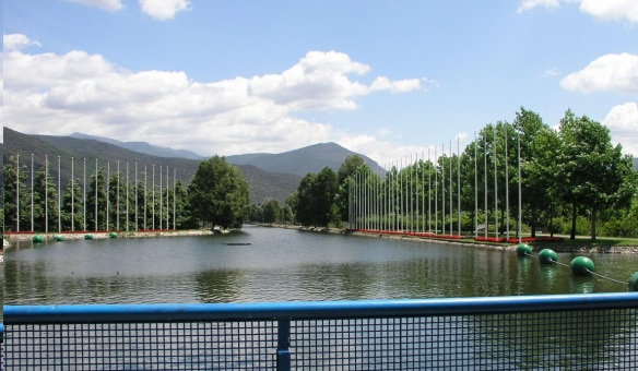 Training center of canoe in La Seu d'Urgell