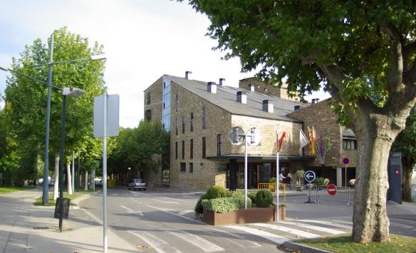 Corner of street, La Seu d'Urgell