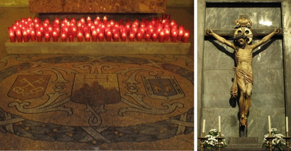 Candles of Prayer and Holy Cross, Cathedral of St. Peter the Apostle