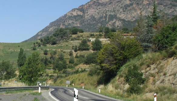 View on the way to La Seu d'Urgell