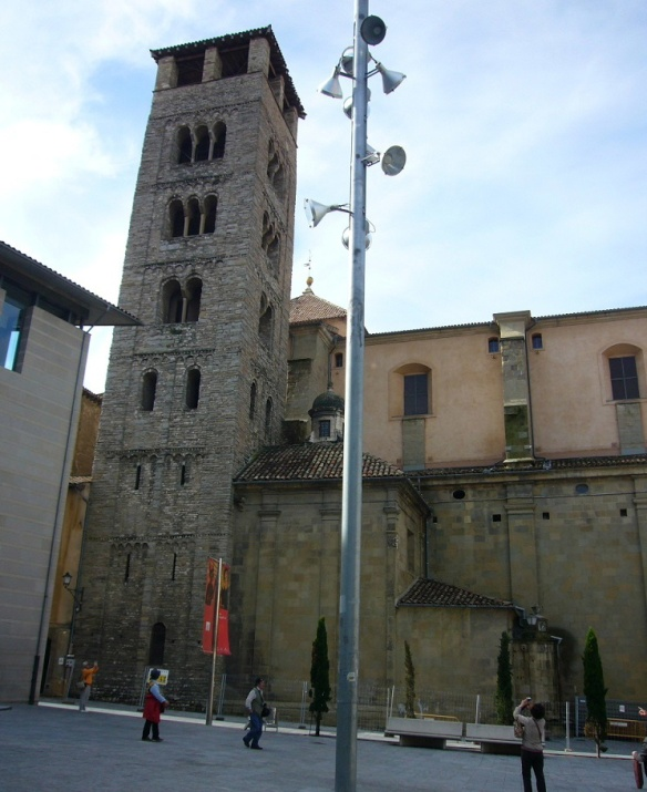 Romanesque bell tower