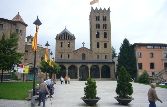 Façade of the monastery.