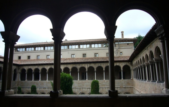 First floor of the Monastery of Santa Maria