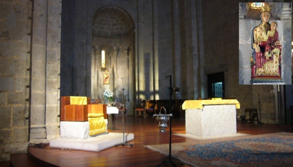 Main altar and the altarpiece of Mother of God