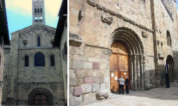 Façade of La Seu de Urgell Cathedral
