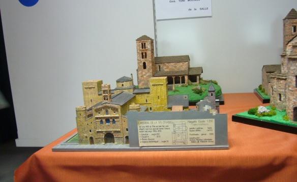 Miniature Model of La Seu d'Urgell Cathedral