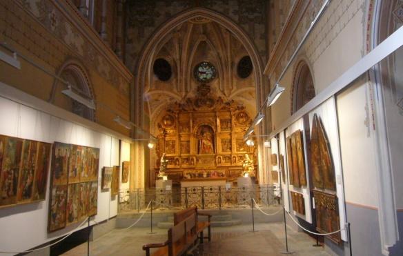 Interior of La Seu d'Urgell Cathedral