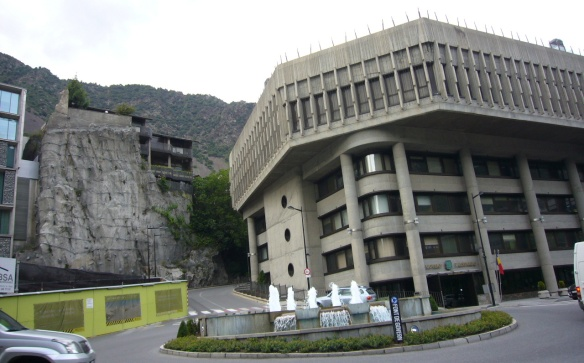 Comú d'Andorra la Vella (Government Office Building)
