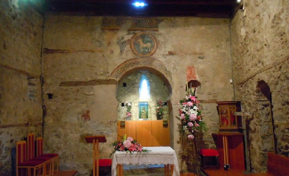 Altar of the Santa Coloma Church