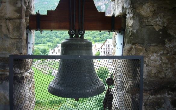 The Bell, at the bell tower of church Sant Feliu de Barruera