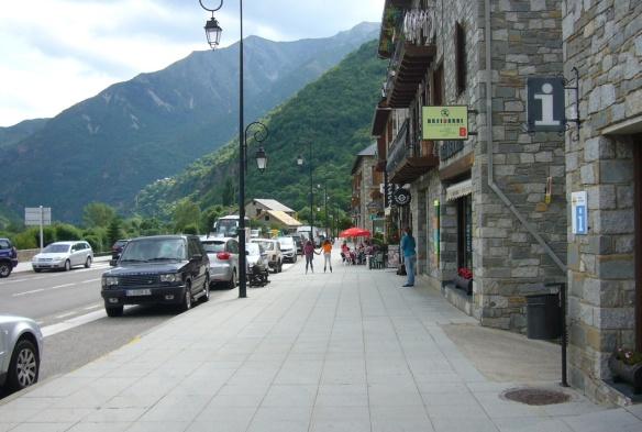 Main Street of Barruera Village