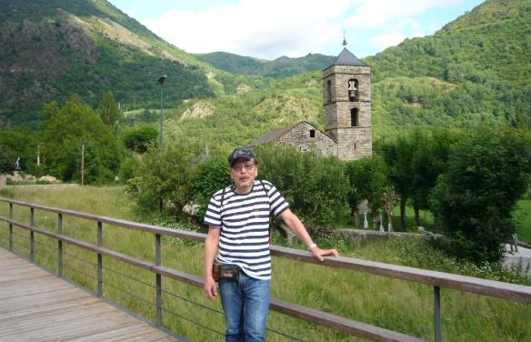 The church of Sant Feliu and I in Barruera.