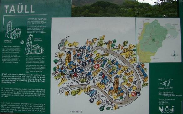 Map of Taüll