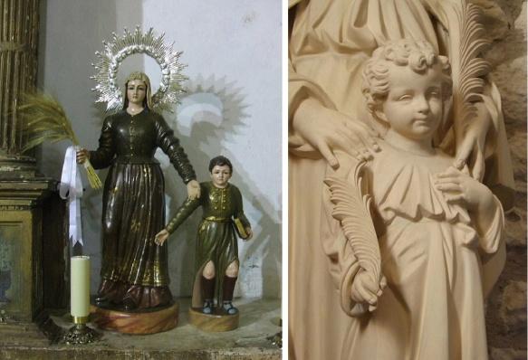Saint Julietta and her son Saint Quiricus