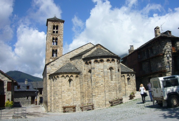 The Church of Santa Maria de Taüll.