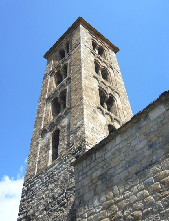 Bell tower of Santa Maria Taüll