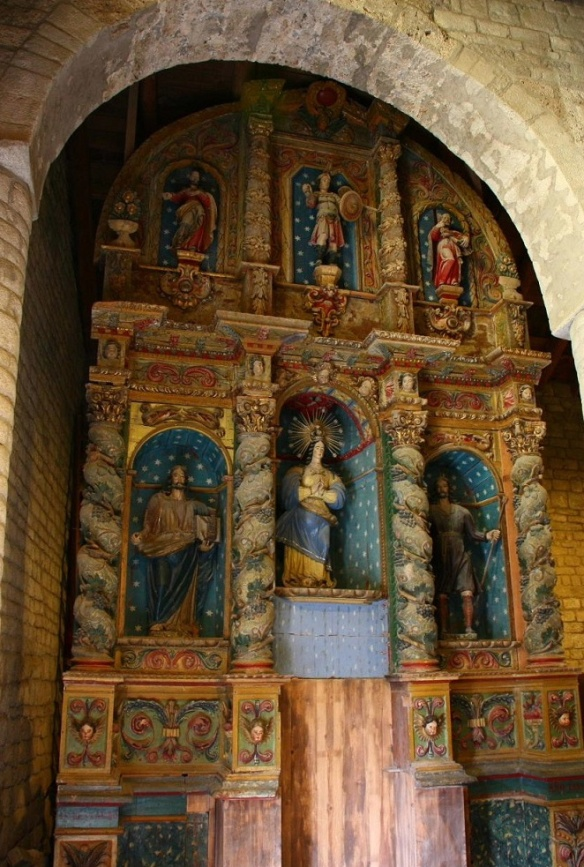 Alter of Iglesia de Santa Maria de Taüll