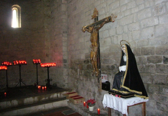 The Holy Cross and Our Lady
