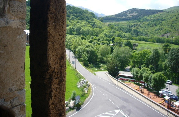 The view from the bell tower of Santa Maria de Taüll