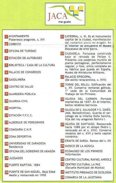 Information of Jaca