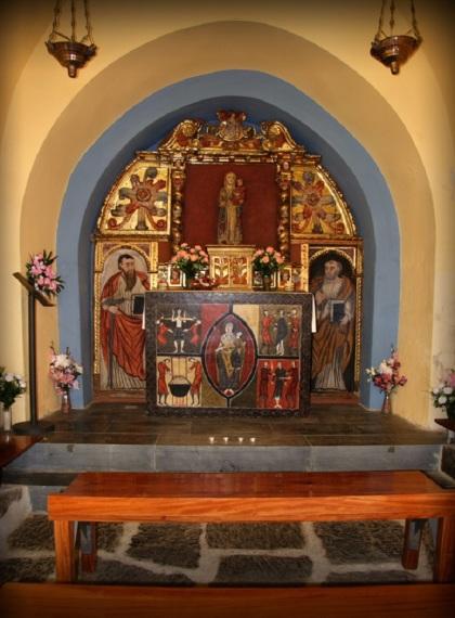 Altar of L'ermita de Sant Quirc